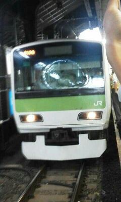 秋葉原駅の電車