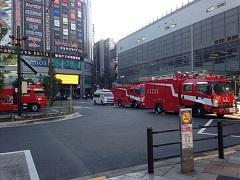 消防車と救急車