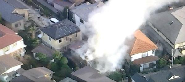 火災現場の画像