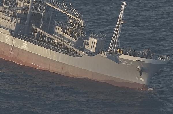 環洋丸の船首の画像