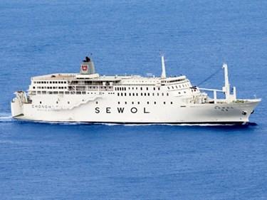 セウォール号の画像