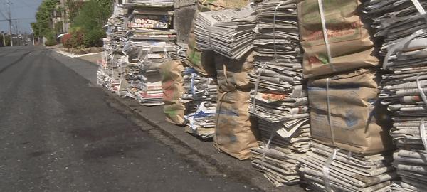 ゴミ置き場の画像