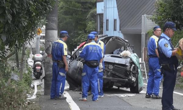 事故車両の画像