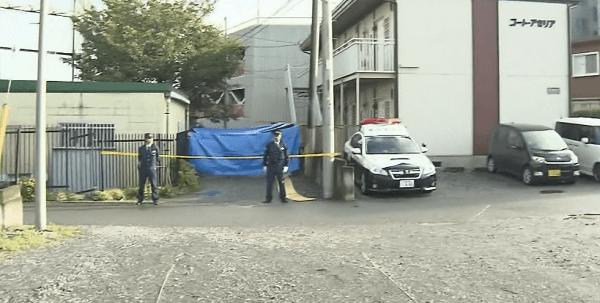 殺人事件現場の画像