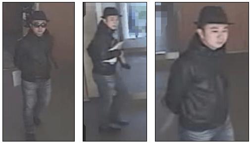 強盗事件の犯人の男の画像