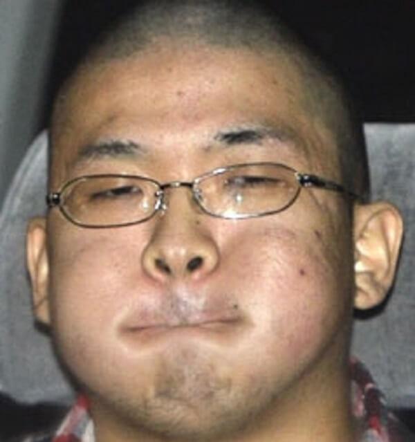 逮捕された中村桜洲容疑者の画像