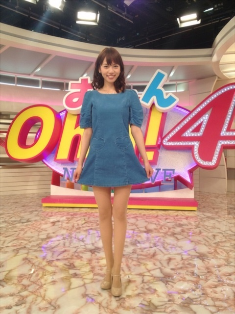 Oha4!に出演しているミニスカの加藤多佳子の画像