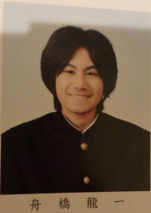 舟橋龍一の卒業アルバムの画像