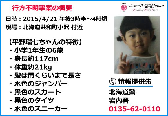 平野瑠七ちゃんの特徴まとめ画像
