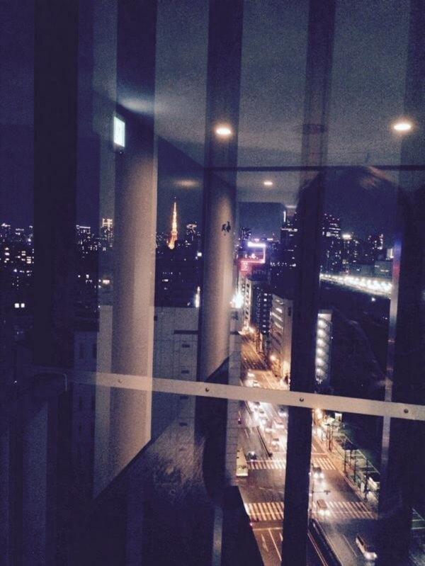 東京タワーが見える秋山智咲の妹のマンション画像