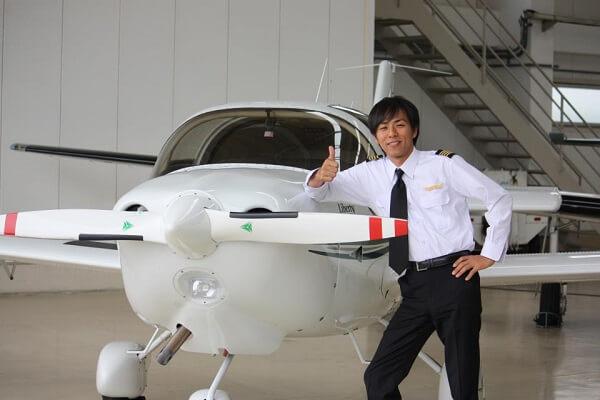 川村泰史機長のFacebook画像