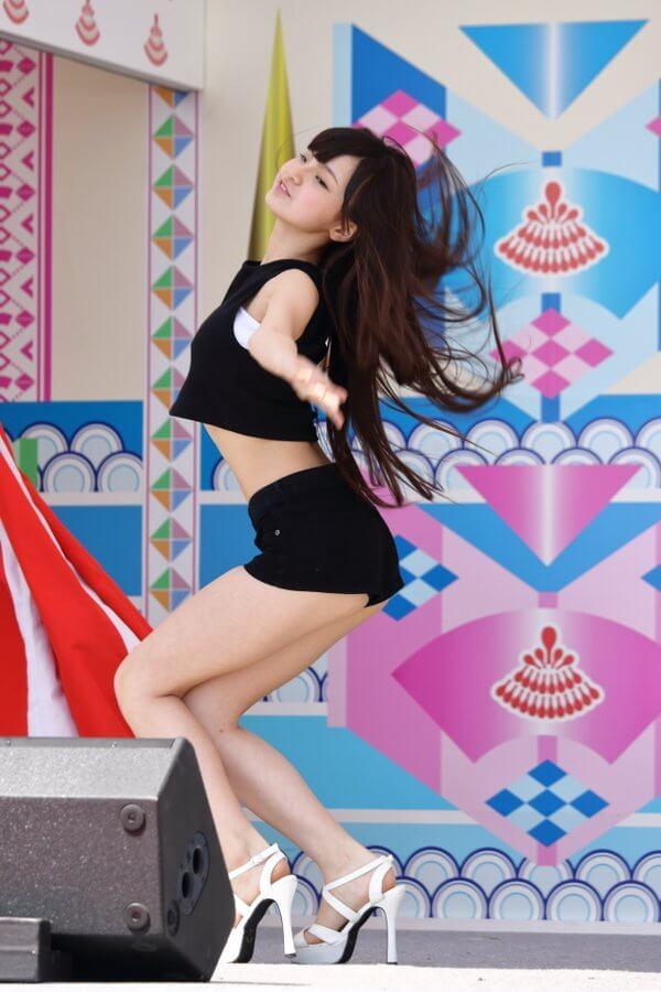 ダンスをしている中村星虹の動画のキャプチャ画像