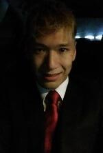 Twitterに投稿した植松聖の自撮り顔写真の画像