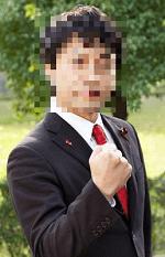 小田求(おだ きゅう)のFacebookやアメブロに掲載しているプロフィール写真画像