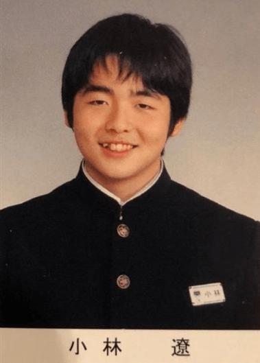 小林遼が写っている小針中学校の卒業アルバム写真画像