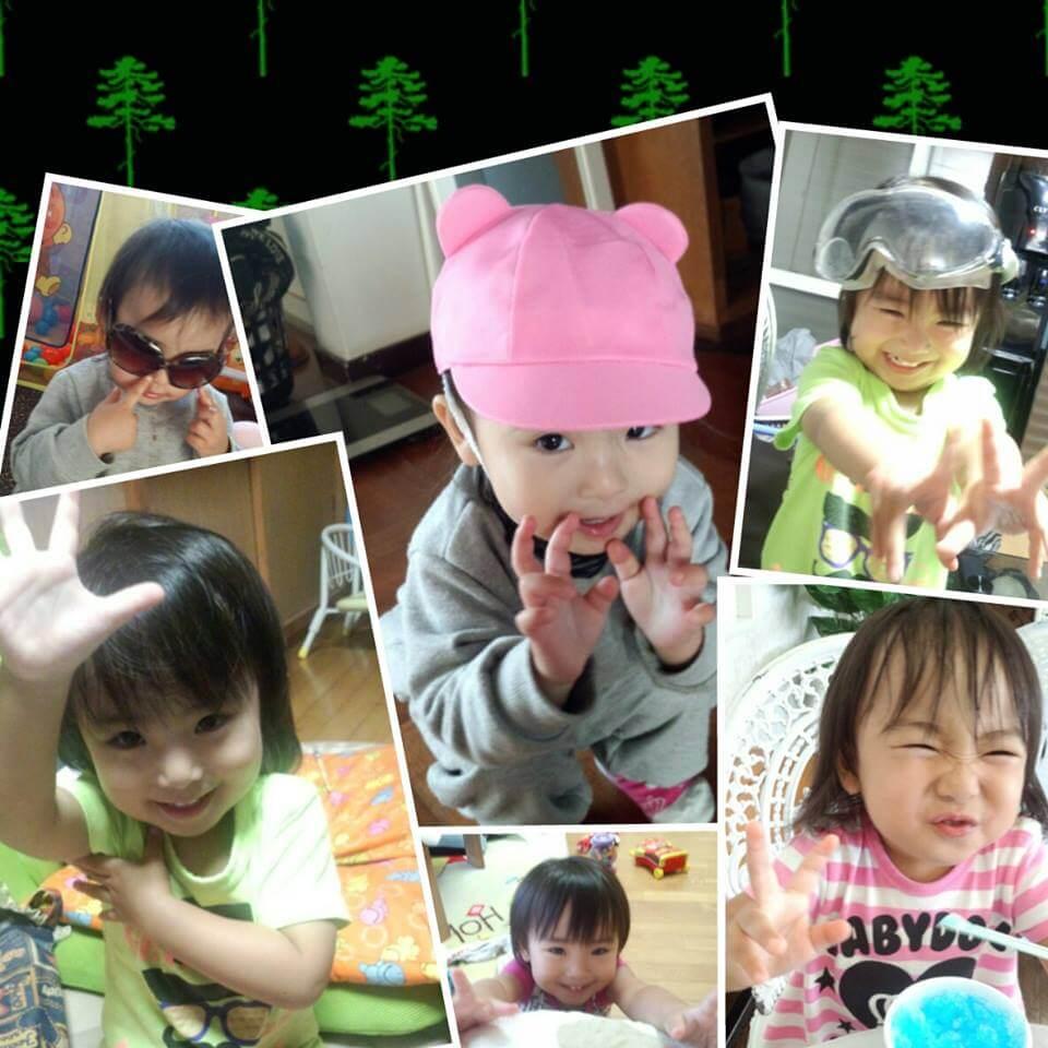 Facebookにアップロードされていた船戸結愛ちゃんの顔写真画像