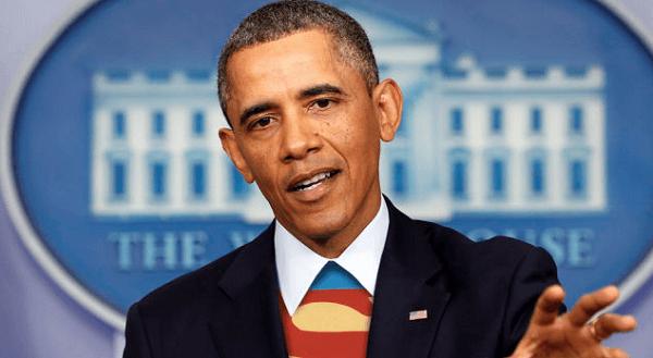 大統領を務めていた当時のオバマ氏の画像