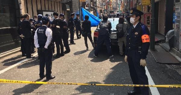 歌舞伎町さくら通り殺人事件現場の写真画像