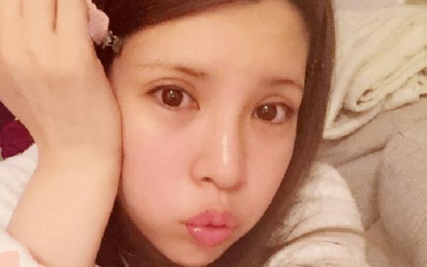 ANRIのツイッターに投稿していた顔写真の画像