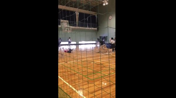 今宮工科高校バレー部の体罰動画の画像