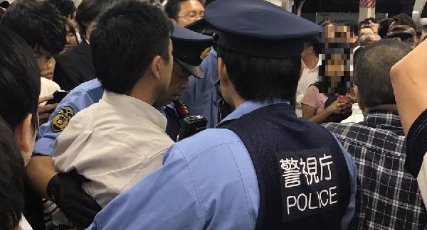 総武線・平井駅での痴漢冤罪事件現場の写真画像