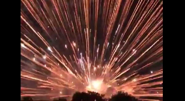 大垣花火大会の花火爆発事故の写真画像