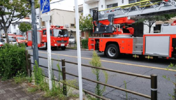 名古屋市熱田区三本松町の味覚苑で爆発事故のニュースキャプチャ画像