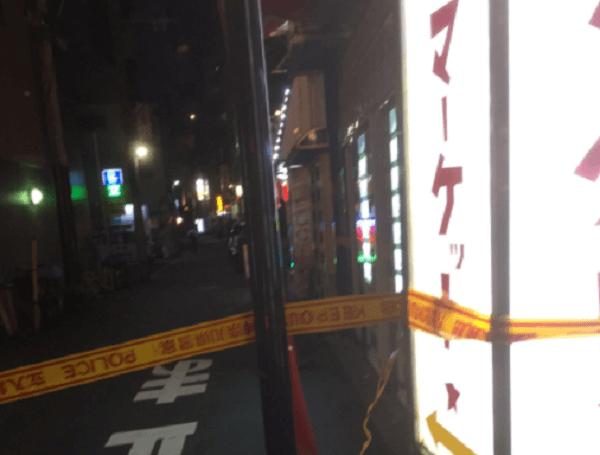 横須賀市若松町にある横須賀中央で殺人事件のニュースのキャプチャ画像