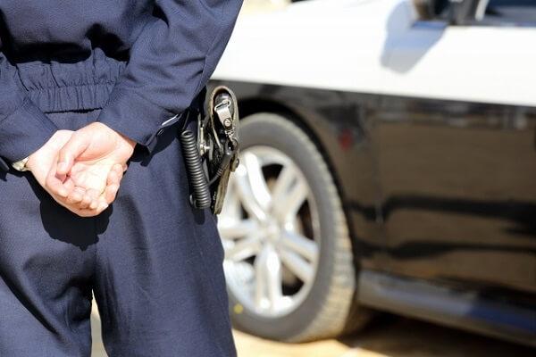 静岡県警の警察官逮捕のニュース画像