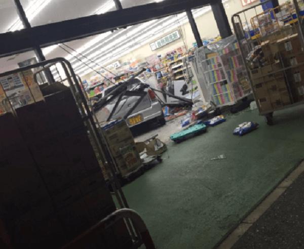 館山市湊のマツキヨで事故のニュースキャプチャ画像