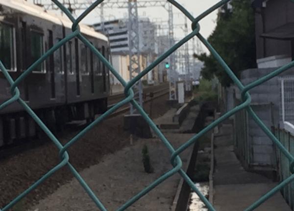 阪急京都線で人身事故のニュースのキャプチャ画像