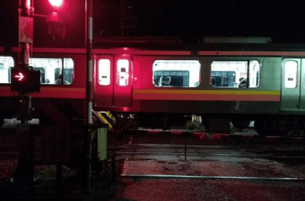 信越線の荻川駅付近で人身事故の画像