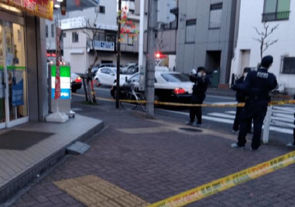 大曽根駅付近のファミマでコンビニ強盗事件の画像