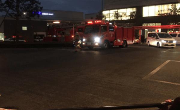 二子玉川ライズに消防車駆けつけ騒然の画像
