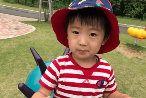 行方不明の3歳児・田中蓮くんの顔写真の画像