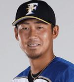 日本ハムの中田翔選手の顔写真の画像