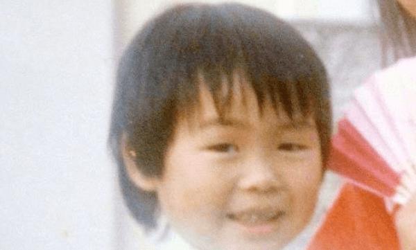 徳島県貞光町で約30年前に行方不明となった4歳児・松岡伸矢くんの顔写真の画像