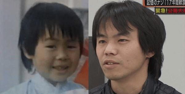 和田竜人さんと松岡伸矢くんの比較画像