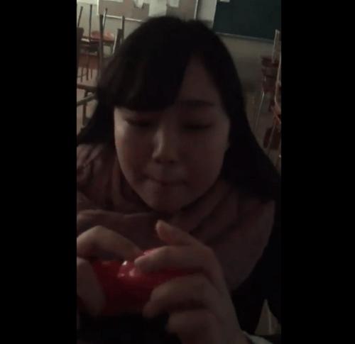 住吉商業高校の女子高生の動画のキャプチャ画像