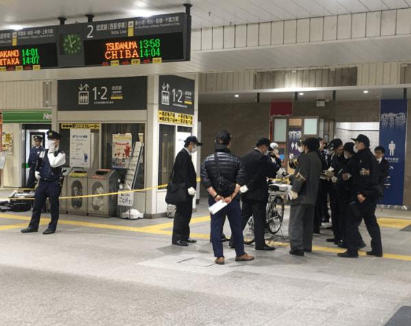 亀戸駅で女子高生がハンマーで殴られた傷害事件の画像