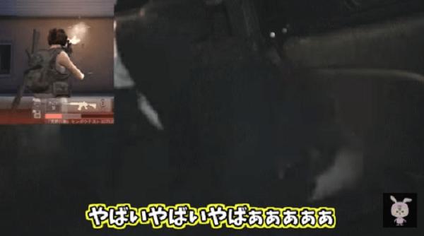 矢野晴人さんがパニック状態になっている動画のキャプチャ画像