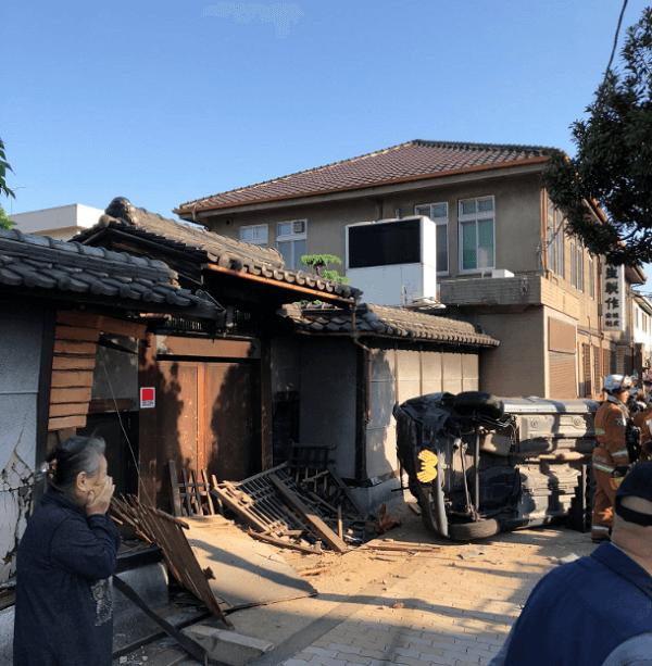 大阪市東成区で死亡事故の現場の画像