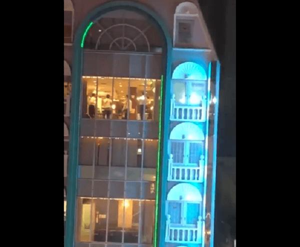 名古屋市中区錦3丁目の繁華街のネカフェ無差別殺人の現場の画像
