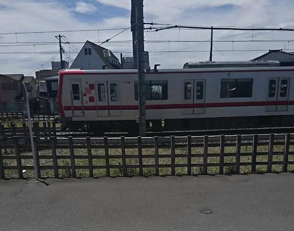 東武スカイツリーライン・大袋駅で人身事故の画像
