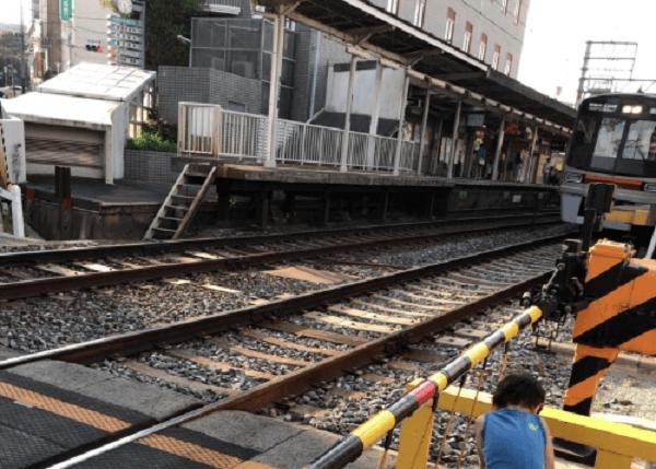 阪急京都線・西院駅で人身事故の画像