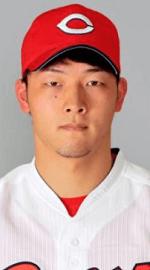 薮田和樹投手の顔写真の画像
