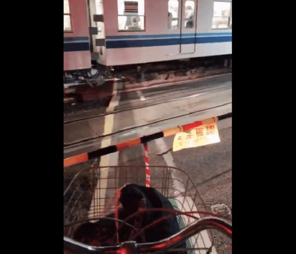 東武野田線・豊四季駅付近で人身事故の現場の画像
