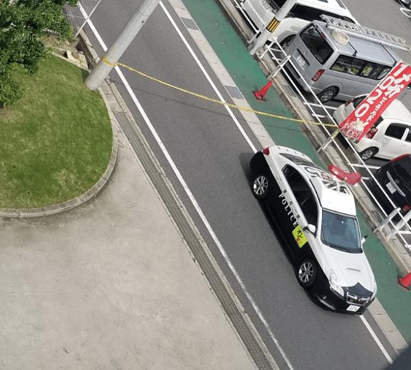 メガコン刈谷知立店で強盗致傷事件の現場の画像