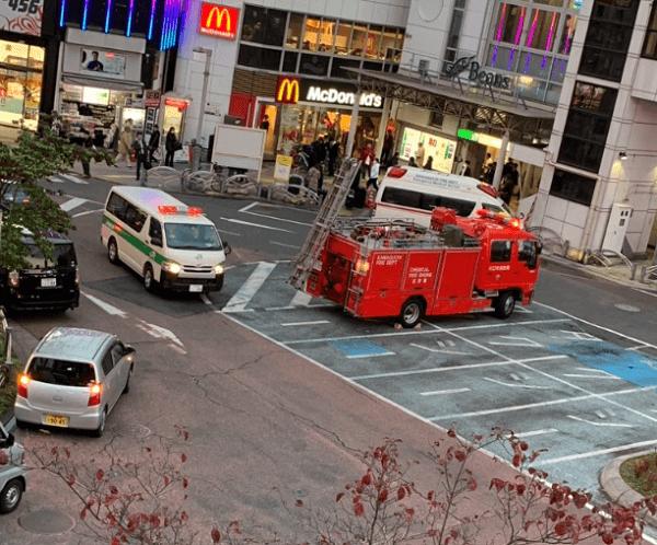 京浜東北線の西川口駅で人身事故の現場画像