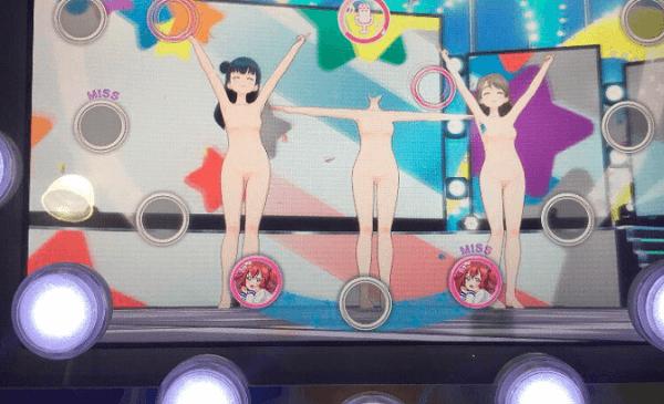 スクフェスACで衣装消える全裸バグの画像